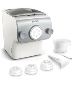 New Philips Avance Pasta and Noodle Maker Plus w/ 4 Shaping