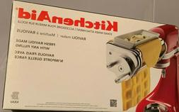 NIB KitchenAid KRAV Ravioli Maker Attachment for KitchenAid