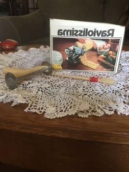 OMC Marcato Raviolissima Ravioli Machine Attachment Made in