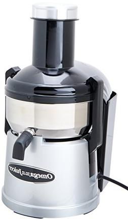 Omega BMJ330 Commercial 350-Watt Stainless-Steel Pulp-Ejecti