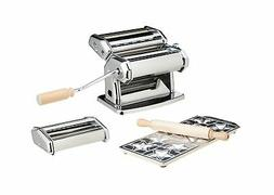 Imperia Pasta Maker Deluxe Set  w 2 Attachments Star Ravioli