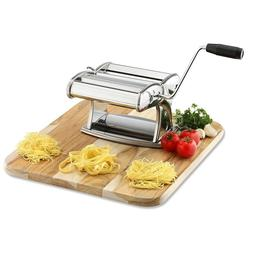 Professional Pasta Maker Machine With Hand Crank Noodle & Ac