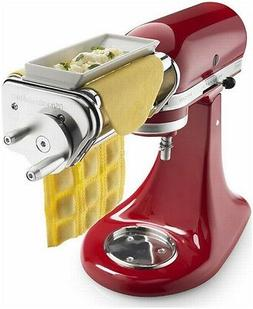 Ravioli Maker for Stand Mixer, Silver, Pasta and Pastry Atta