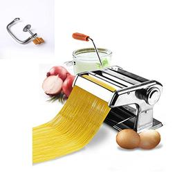 Stainless Steel Fresh Pasta Maker Roller Machine for Fettucc