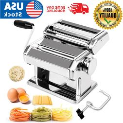 Stainless Steel Fresh Pasta Maker Roller Machine for Spaghet