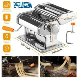Stainless Steel Roller Manual Pasta Makers with 6 Adjustable