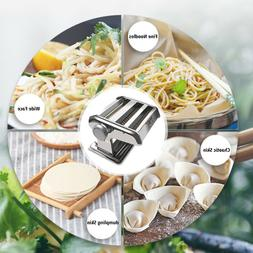 Steel Manual Noodle Makers Pasta Maker Machine Two-Blade Pas