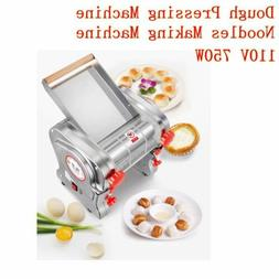 US 110V 750W Electric Pasta Press Maker Noodle Machine Dough