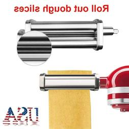 USA Slice Pasta Maker Machine Roller Cutter For Kitchen Aid