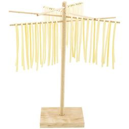 WOODEN PASTA DRYING RACK! Hanging Rack Goes with Pasta Maker